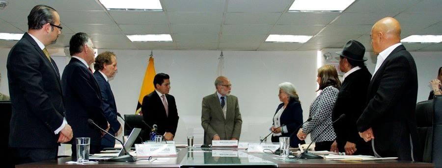 Julio Cu00e9sar Trujillo preside el Consejo de Participaciu00f3n Ciudadana. Foto: cortesu00eda