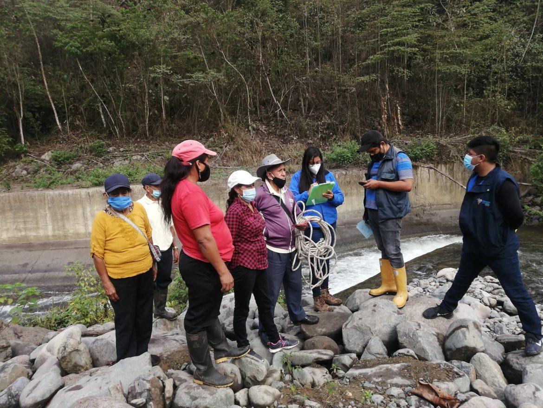 Inspección de cumplimiento de hidroeléctrica